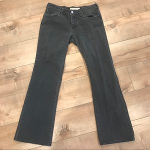 Stella McCartney Bootleg Gray Jeans Sz 26
